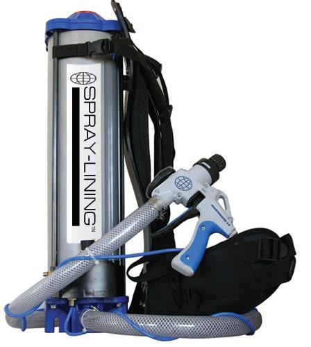 spray bedliner equipment - graco equipment, hopper guns and