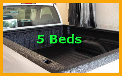 Diy spray bedliner store spray on black truck bed liner kit 5 beds 125 mils with 2 guns solutioingenieria Gallery
